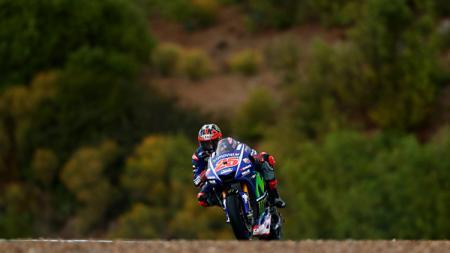 Pembalap Yamaha, Maverick Vinales. - INDOSPORT