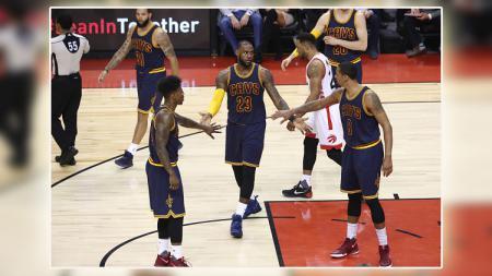 Toronto Raptors vs Cleveland Cavaliers. - INDOSPORT