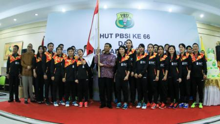Tim Piala Sudirman Indonesia 2017. - INDOSPORT