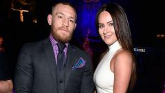 Indosport - Conor McGregor and Dee Devlin.