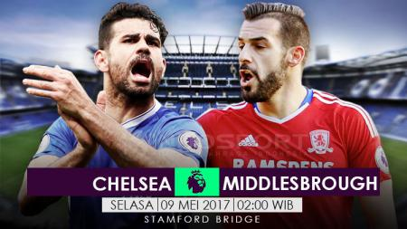 Prediksi Chelsea vs Middlesborough. - INDOSPORT