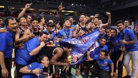 Pelita Jaya Juara IBL 2017.