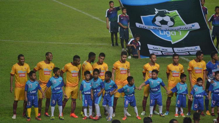 Sriwijaya FC akan memboyong 22 pemain untuk menghadapi laga tandang menghadapi Persiba Balikpapan. Copyright: Muhammad Effendi/INDOSPORT