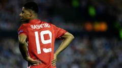 Indosport - Striker muda Manchester United, Marcus Rashford.