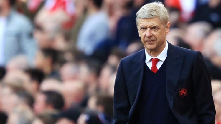 Pelatih Arsenal, Arsene Wenger. Copyright: Richard Heathcote/Getty Images