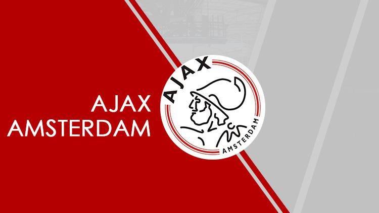 Logo Ajax Amsterdam. Copyright: Grafis: Eli Suhaeli/INDOSPORT/Wikipedia