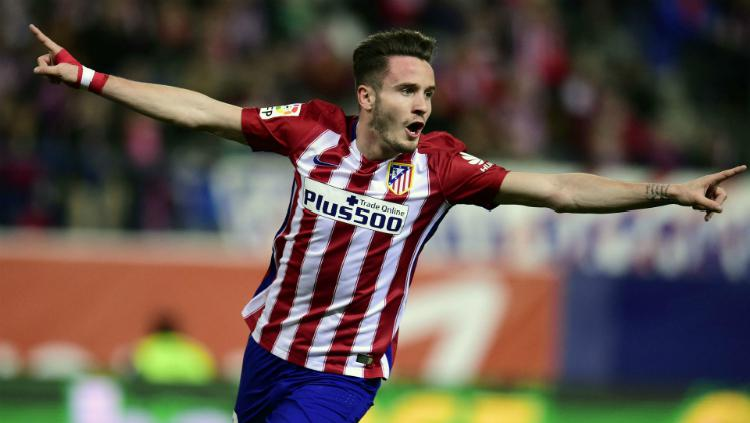 Pesepakbola Atletico Madrid, Saul Niguez. Copyright: Sky Sports