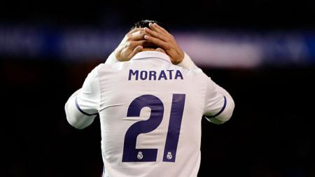 Alvaro Morata, penyerang muda Real Madrid. - INDOSPORT
