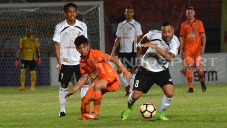 Marcel Silva Sacramento baru mencetak 1 gol bagi Semen Padang di Liga 1. - INDOSPORT
