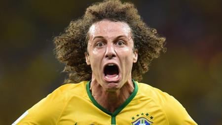Bek Chelsea berkebangsaan Brasil, David Luiz. - INDOSPORT