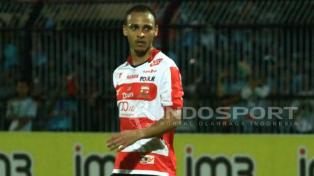 Marquee player Madura United FC, Peter Odemwingie. - INDOSPORT
