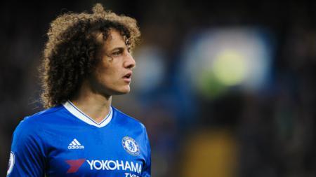 Bek andalan Chelsea, David Luiz. - INDOSPORT