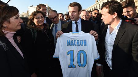 Presiden terpilih ke-25 Prancis, Emmanuel Macron. - INDOSPORT