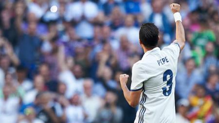 Bek Real Madrid, Pepe. - INDOSPORT