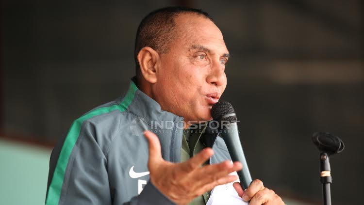 Ketua Umum PSSI, Edy Rahmayadi. Copyright: Herry Ibrahim/INDOSPORT