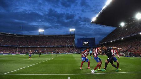 Karim Benzema kecoh 3 bek Atletico - INDOSPORT
