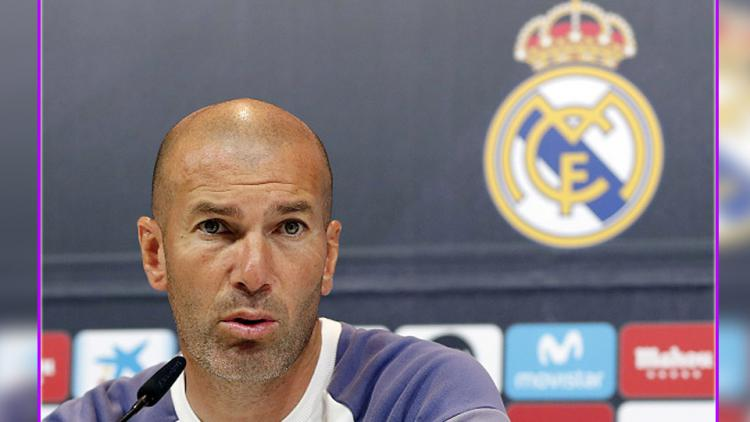 Zinedine Zidane, pelatih Real Madrid. Copyright: Angel Martinez/GettyImages