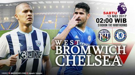 Prediksi West Bromwich Albion vs Chelsea. - INDOSPORT
