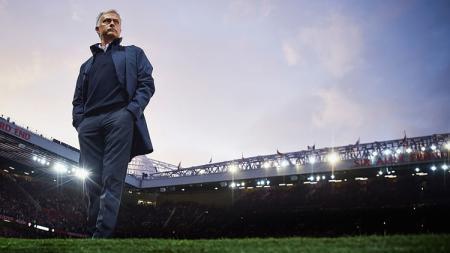 Manajer Manchester United, Jose Mourinho. - INDOSPORT