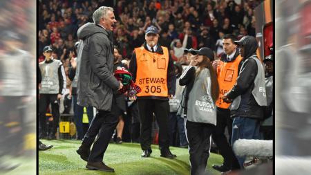 Jose Mourinho (Manchester United). - INDOSPORT