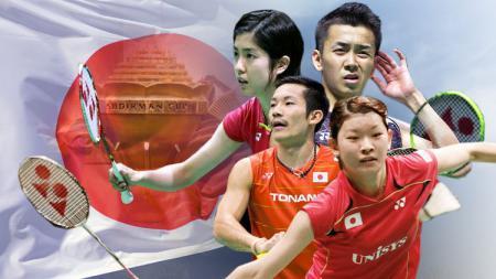 Jepang (Piala Sudirman). - INDOSPORT