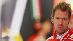 Indosport - Pembalap Ferrari, Sebastian Vettel
