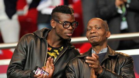 Paul Pogba dan sang ayah, Fassou Antoine Pogba. - INDOSPORT