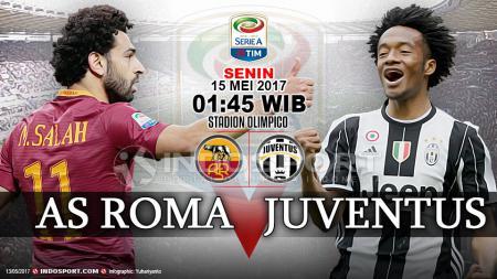 Susunan pemain AS Roma vs Juventus. - INDOSPORT