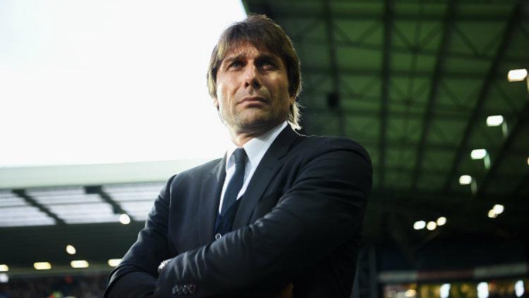 Pelatih anyar Chelsea, Antonio Conte. Copyright: Michael Regan/Getty Images