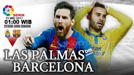 Las Palmas vs Barcelona. - INDOSPORT