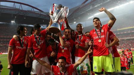 Klub asal Portugal, Benfica menjadi juara Liga NOS musim 2016/17. - INDOSPORT