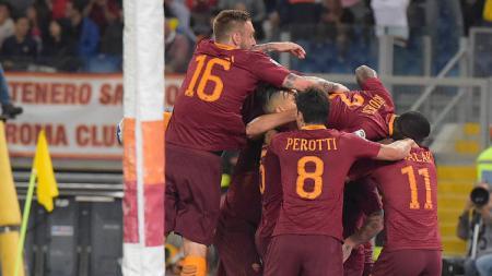 AS Roma sukses menaklukkan Juventus dalam lanjutan Serie A Italia - INDOSPORT