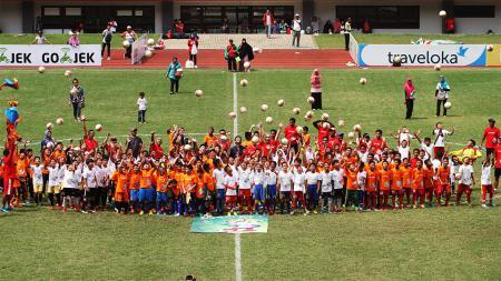 AFC Grassroots Football Day 2017. - INDOSPORT