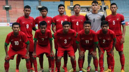 Skuat Timnas U-16 besutan Fakhri Husaini. - INDOSPORT