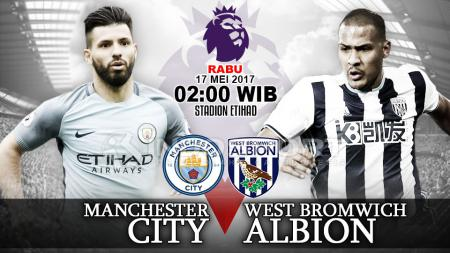 Prediksi Manchester City vs West Bromwich Albion. - INDOSPORT