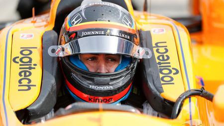 Pebalap Formula 1 asal Spanyol, Fernando Alonso. - INDOSPORT
