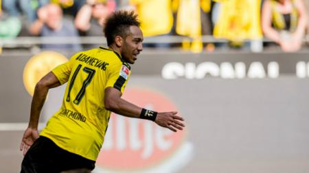 Bintang Borussia Dortmund, Pierre-Emerick Aubameyang. - INDOSPORT