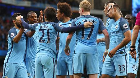 Manchester City vs WBA. - INDOSPORT