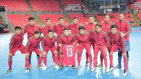 Skuat Timnas Futsal. - INDOSPORT