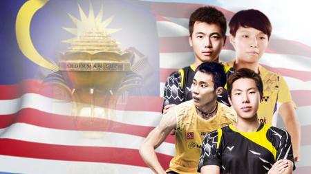 Profil tim Malaysia di Piala Sudirman 2017. - INDOSPORT