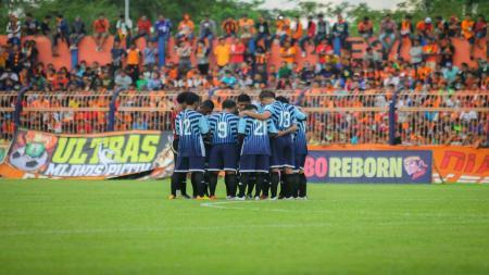 Persema Malang menangi Derby Malang Raya. - INDOSPORT