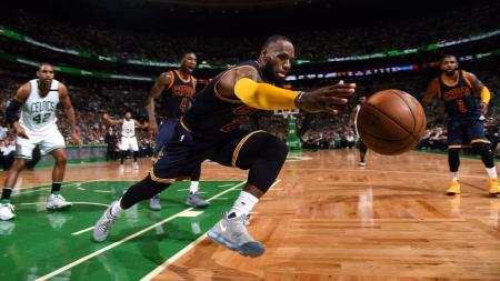 Cleveland Cavaliers (LeBron James) vs Boston Celtics - INDOSPORT