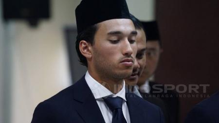 Pemain Naturalisasi Indonesia, Ezra Walian. - INDOSPORT