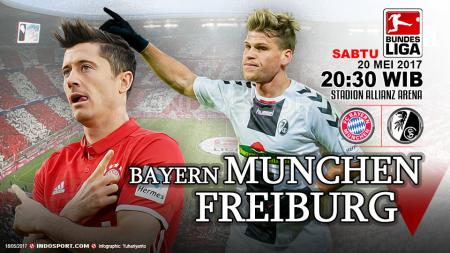 Prediksi Bayern Munchen vs Freiburg. - INDOSPORT