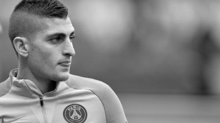 Pemain sepak bola Paris Saint-Germain, Marco Verratti, ternyata punya rencana tak terduga yang berpengaruh pada niat Juventus untuk merekrutnya. - INDOSPORT