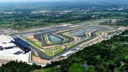 Penampakan Sirkuit MotoGP di Lombok. - INDOSPORT