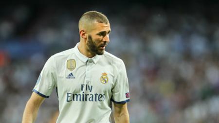 Striker andalan Real Madrid, Karim Benzema. - INDOSPORT