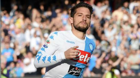 Striker andalan Napoli, Dries Mertens. - INDOSPORT