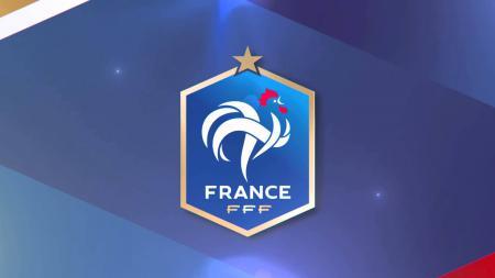 Logo Timnas Prancis. - INDOSPORT