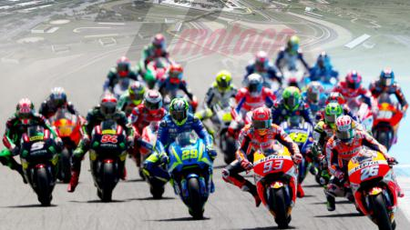 Ajang balap MotoGP rencananya akan segera digelar di Indonesia pada 2018 mendatang. - INDOSPORT